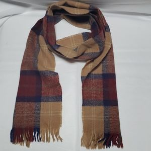 Pitlochry Knitwear Made In Scotland Plaid Scarf